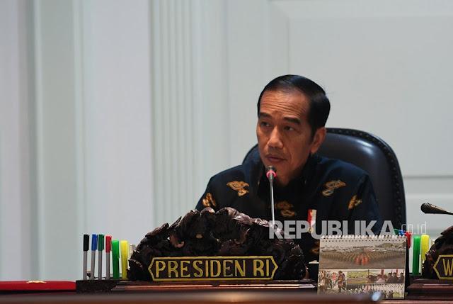Jokowi Sindir Tokoh Pemimpin yang Tegas dan Suka Marah-Marah