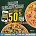 Promo Domino's Pizza Khusus Online MEGAWEEK Diskon 50% Premium Pizza Periode 21 - 24 April 2017