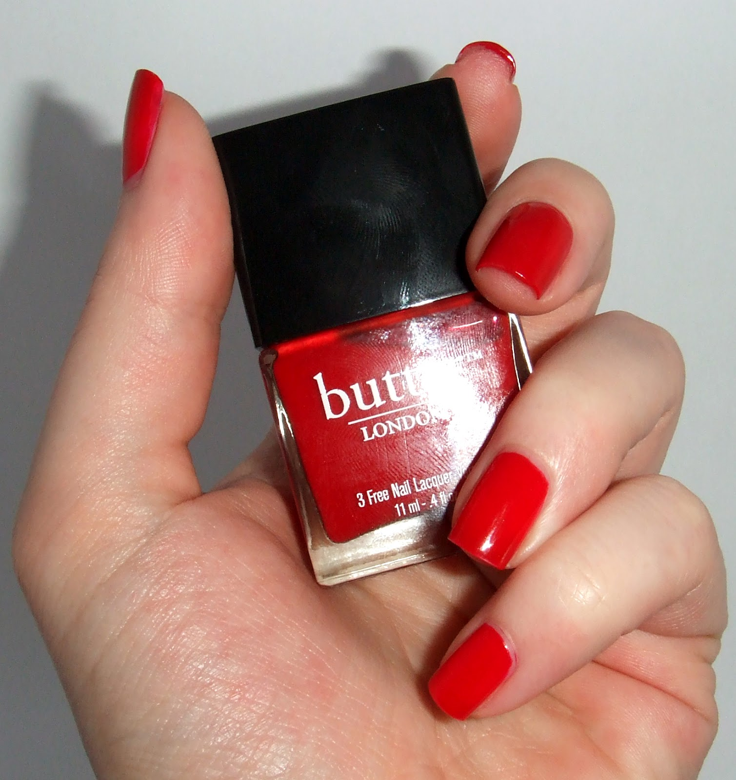 Butter London Come to Bed Red   Pretty Girl Science