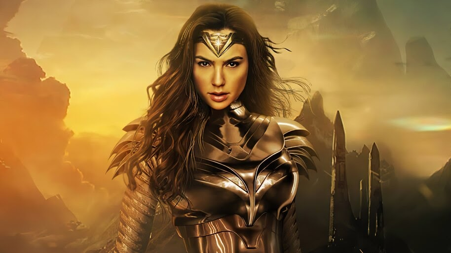 Wonder Woman 1984, Gal Gadot, Golden Armor, 4K, #3.2329