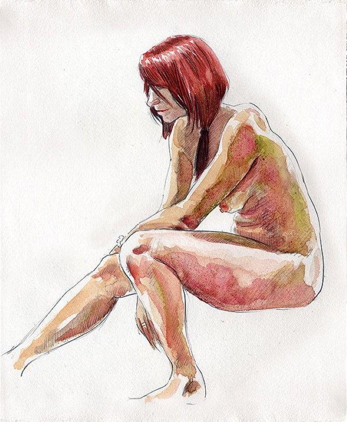 Британский художник. Simon Goss