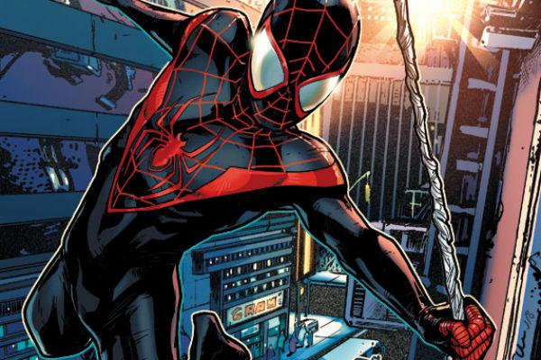 As aventuras do Homem-Aranha Miles Morales, menino negro do Brooklyn que tenta salvar o mundo se aventurando no Multiverso.