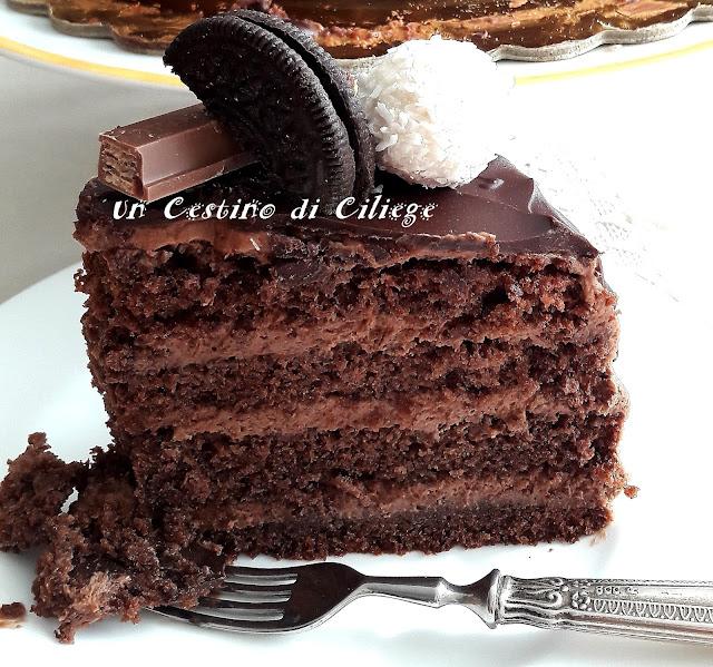 drip cake -. INGREDIENTI chiffon cake al cioccolato f4f44c780d9f