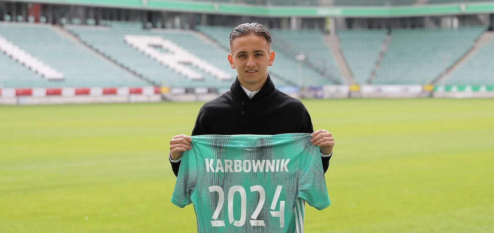 Michał Karbownik<br><br>fot. Legia Warszawa / legia.com