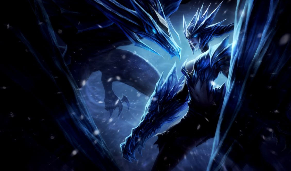 Ice Drake Shyvana League Of Legends Wallpapers 1080p