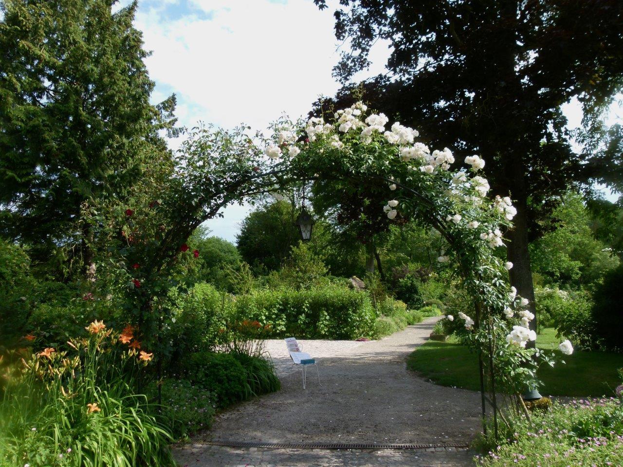 Le blog de parcs et jardins de l 39 oise visite du jardin de for Parc et jardin