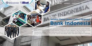 Seperti yang sudah umum diketahui bahwa Bank Indonesia ialah bank sentral di Indonesia PPM Bank Indonesia, Situs Resmi Rekrutmen Bank Indonesia