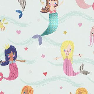 Wallpaper para niños, decoración