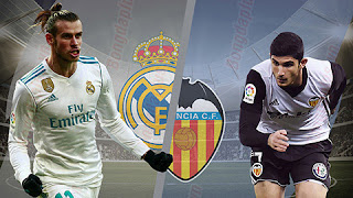 Watch Real Madrid vs Valencia live Streaming Today 01-12-2018 Spain Primera Division