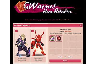 Gwarnet Hero Rotation