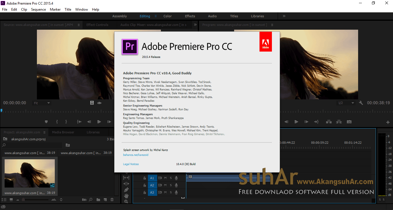Adobe Premiere Pro CC 2015 Final Latest Version