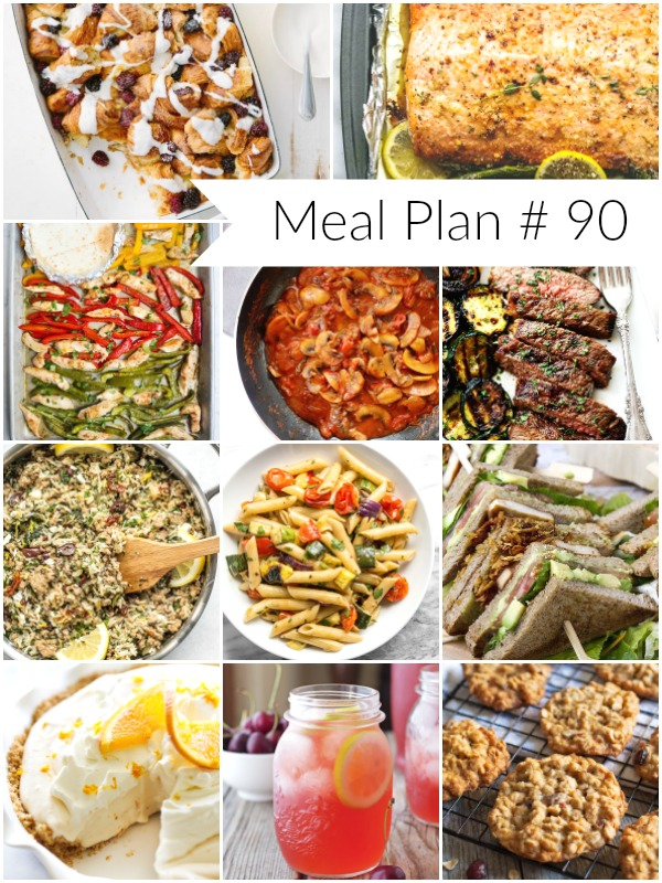Weekly Meal Plan #90 - Ioanna's Notebook