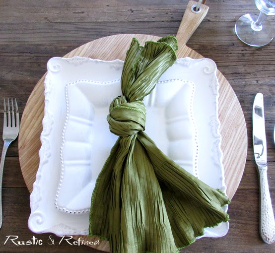 entertaining ideas for placemats