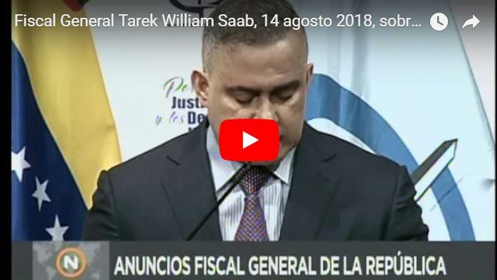 Tarek William Saab ordenó incautar todos los bienes de Julio Borges