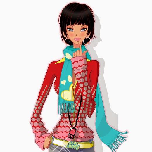 Imagen de Mujer vestida de otoño