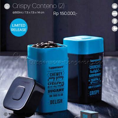 Crispy Conteno ~ Katalog Tupperware Promo Mei 2016