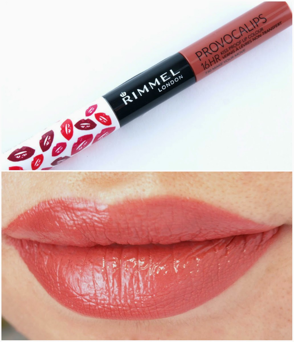 Rimmel Provocalips 16hr Kiss Proof Lip Color Review And Swatches The Happy Sloths Beauty Makeup And Skincare Blog With Reviews And Swatches