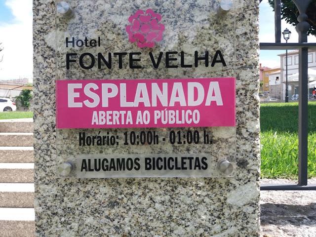 Hotel Fonte Velha - Esplanada