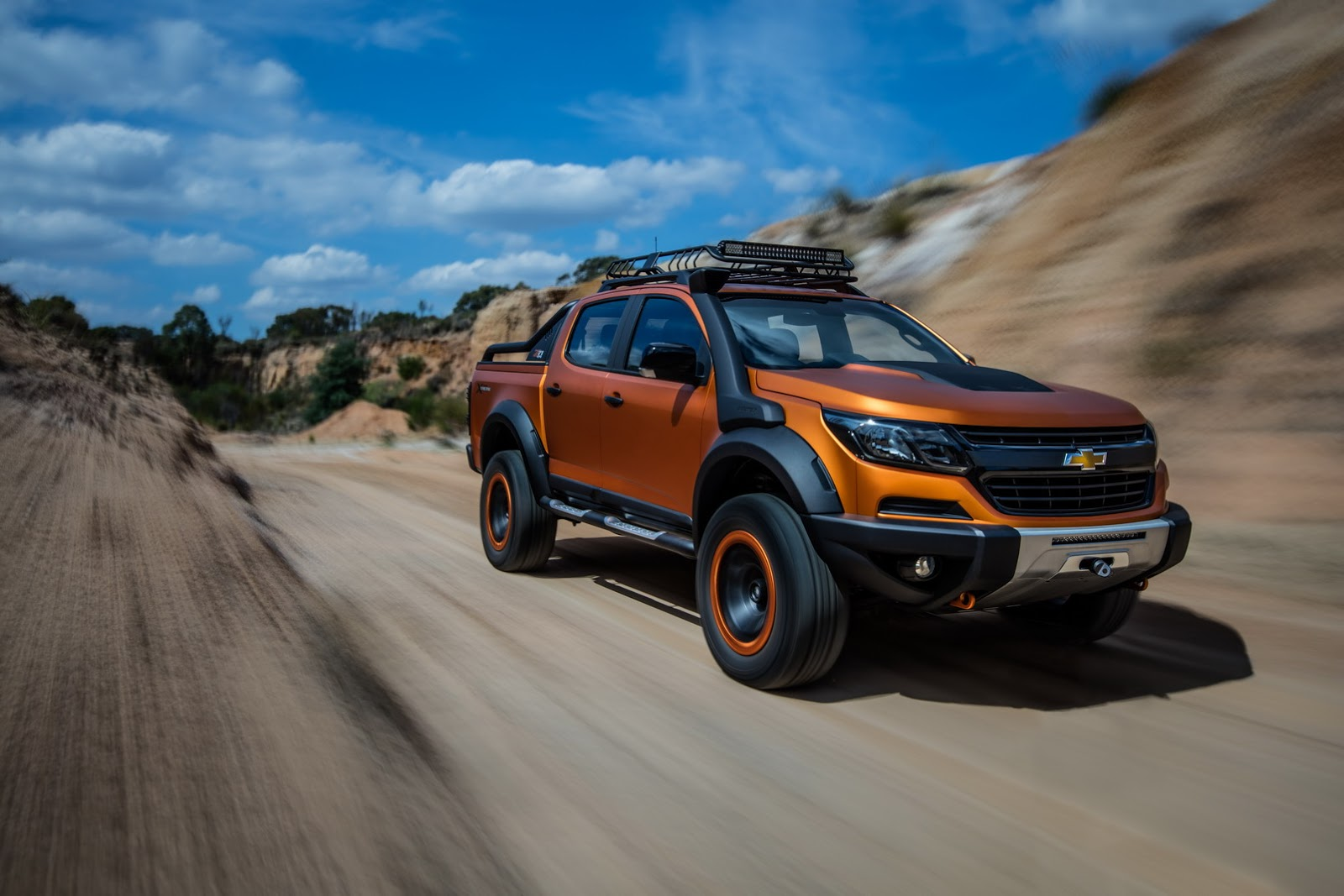 Leader Auto Sales >> Chevrolet Colorado Xtreme Study Previews The Global Model's Facelift - carscoops.com