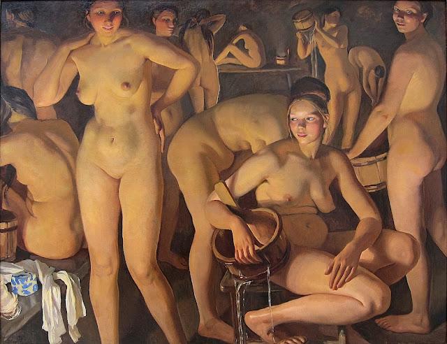 Zinaida Serebrjakova: Il bagno pubblico