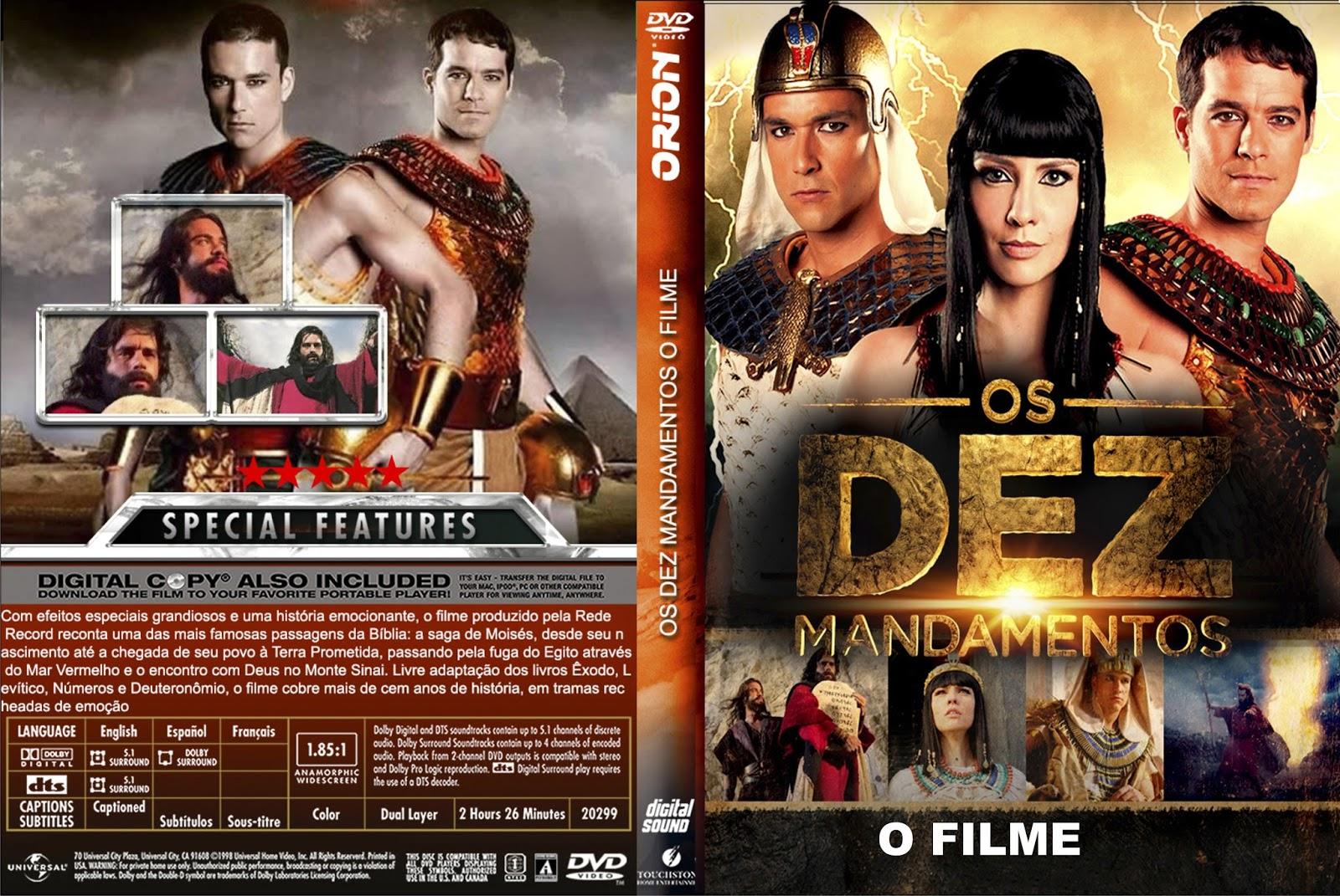 Torrent - Os Dez Mandamentos – O Filme DVDRip Nacional (2016)