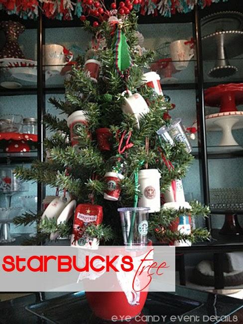 Coffee Christmas Tree Ornaments.Eye Candy Creative Studio Starbucks Christmas Tree