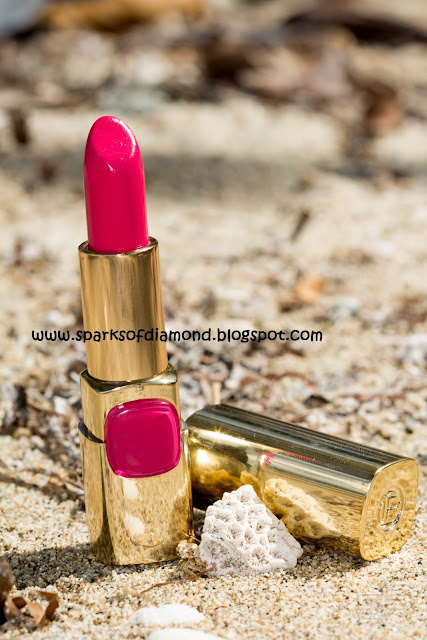 Product Review : Loreal Color Riche Lipstick in Touch of Amaranth (P511)