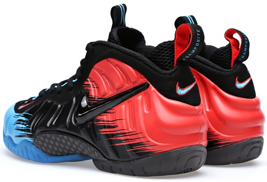huge selection of 28048 3d666 inexpensive air jordan 4 philippine price 8d30f 075b3  norway nike air  foamposite pro premium spider man vivid blue black light crimson february  2014 2cd68