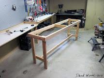 Homemade Work Bench 2X4