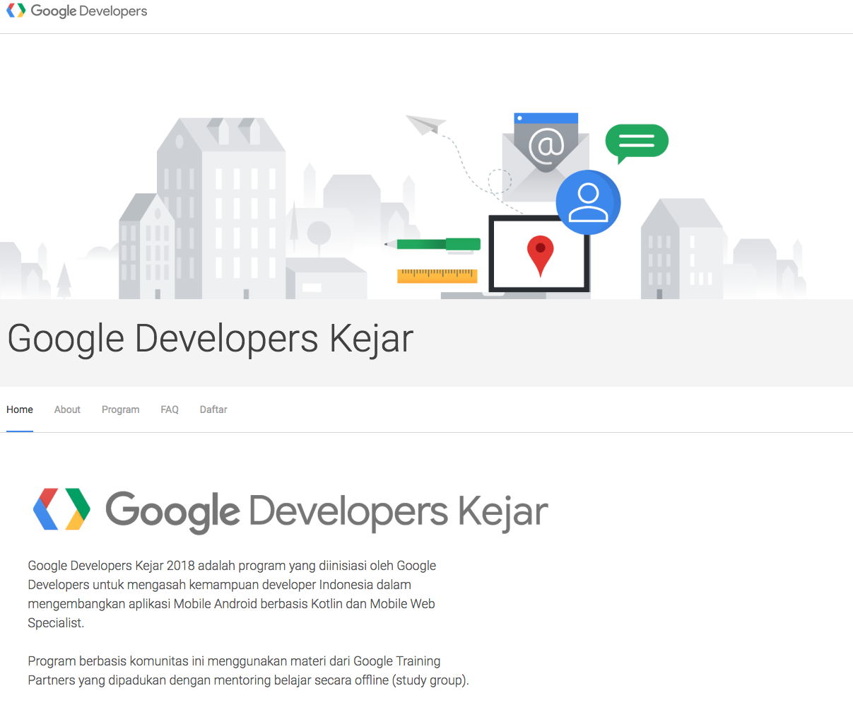 Google Developers Kejar1