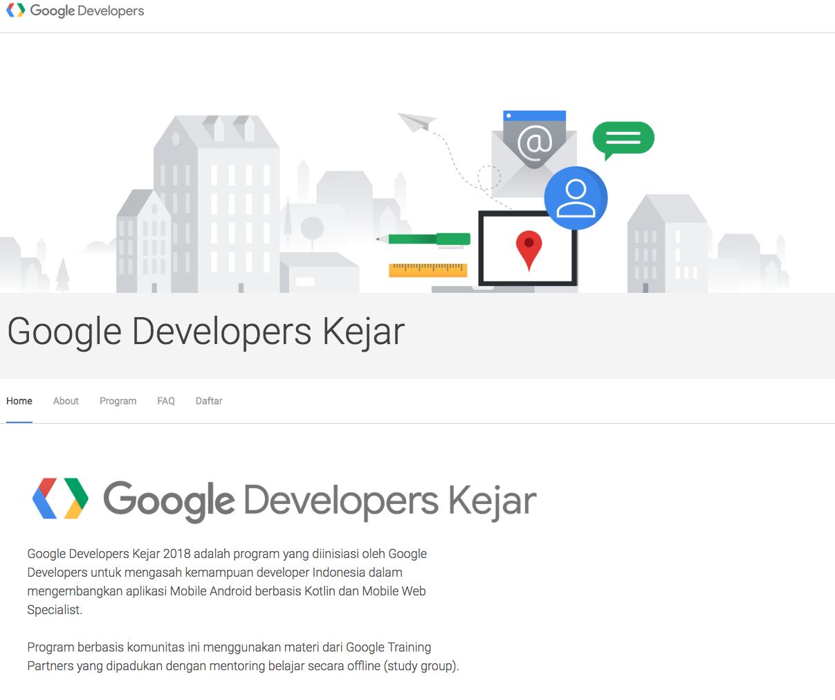 Google Developers Kejar1