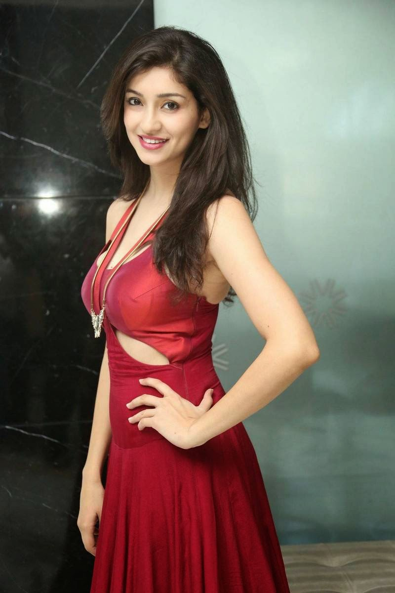 Actress Tanvi Vyas Photo Gallery, Tanvi Vyas Red Hot Dress Sexy Pics