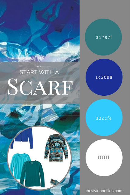 Start with a Scarf: The Topographic Scarf from KathKath