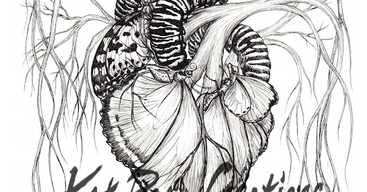 Now my Butterfly Anatomy illustrations are a triptych!