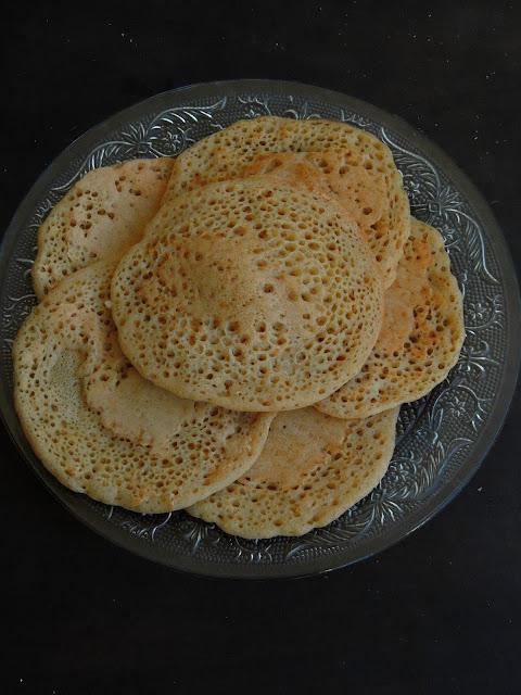 Lemkhenfer, Moroccan Wheat flour Pancakes