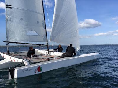 Objectif Tour Voile 2016 pour le Diam 24 Oman Sail
