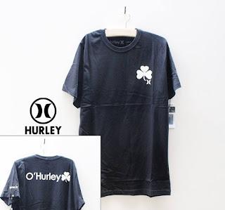 Kaos Hurley Hitam