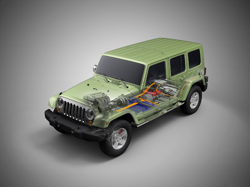 The Jeep® Wrangler Unlimited EV is a Range-extended Electric Vehicle  title=
