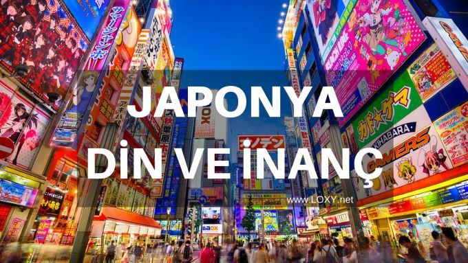 japonya dini