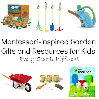 Montessori-inspired Garden Gifts and Resources for Kids