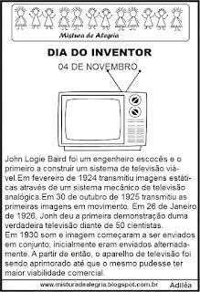 inventor, televisão