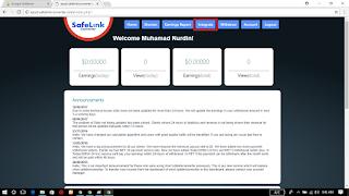 Cara Mudah Mendapatkan Uang dari SafelinkConverter