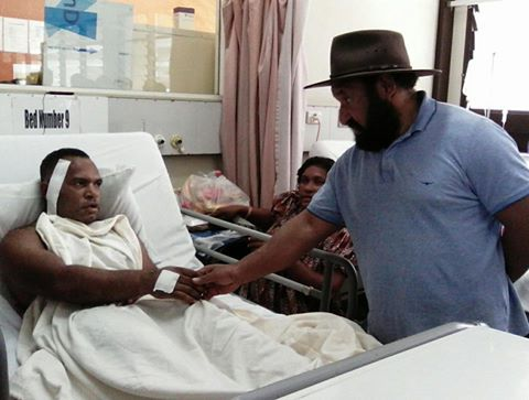 Polye visits bullet-wounded students | Papua New Guinea Today