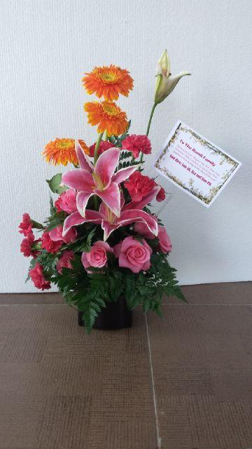 bunga meja murah surabaya, jual bunga meja surabaya, flower bouquet surabaya