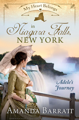 Heidi Reads... My Heart Belongs in Niagara Falls, New York: Adele's Journey by Amanda Barratt