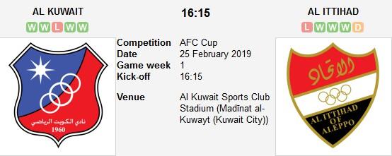 al kuwait vs al ittihad live