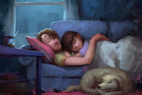 10 Heartwarming Sketches About Love and Romance by Zac Retz!