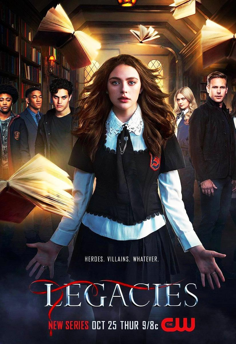 Legacies Temporada 1 1080p Dual Latino/Ingles