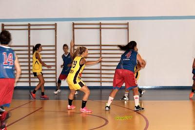 Las chicas del CB Andújar vencen a un mejorado UB Bailén y se proclaman campeonas de Copa Diputación 2018