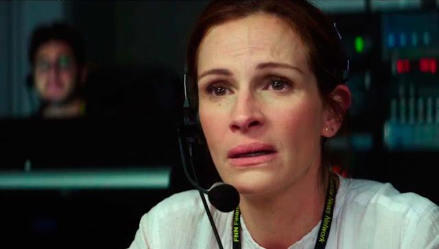 Julia Roberts, looking sad